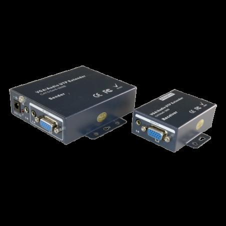 Extensor de señal VGA/Audio...