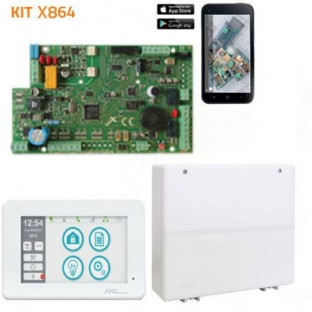 Kit de Alarma AMC X864...