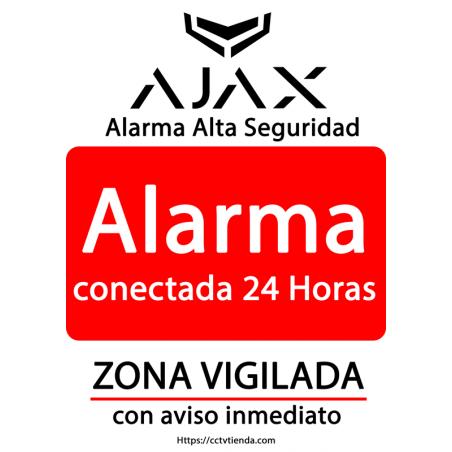 Cartel Alarma Conectada...