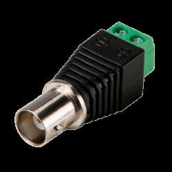 Conector BNC hembra x10 CON291